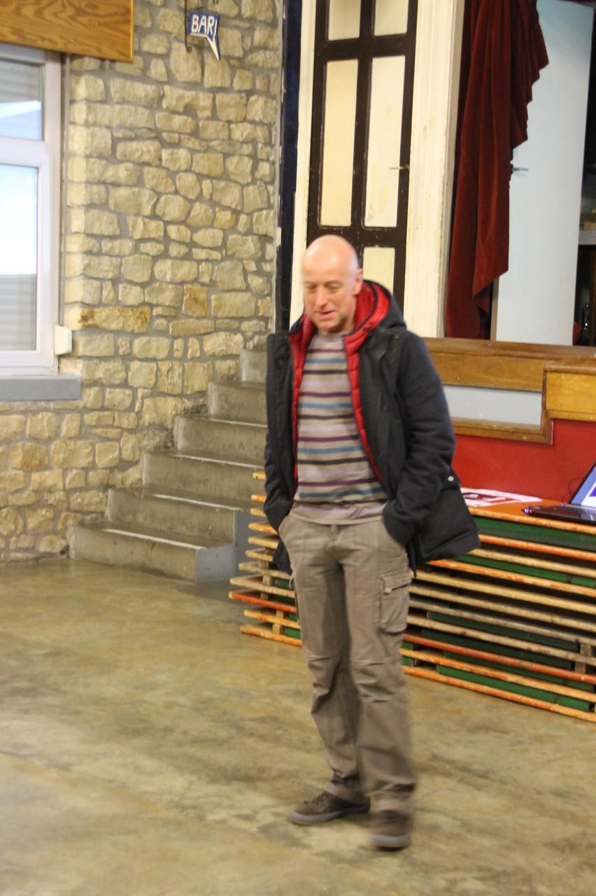André Galhaut expose son projet de participer en tant que dialysé au marathon de Visé...