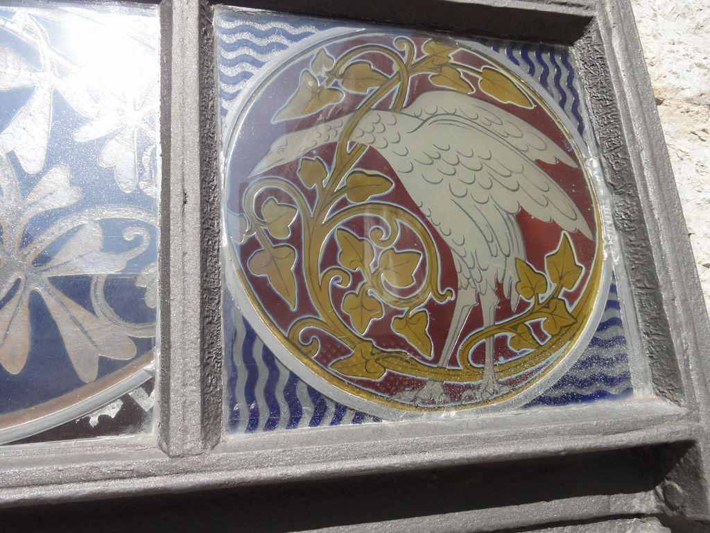 détail d'un vitrail