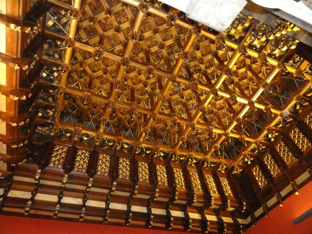 détail d'un plafond