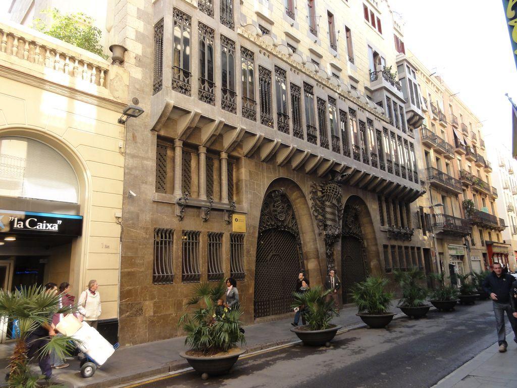 façade du palau Güell