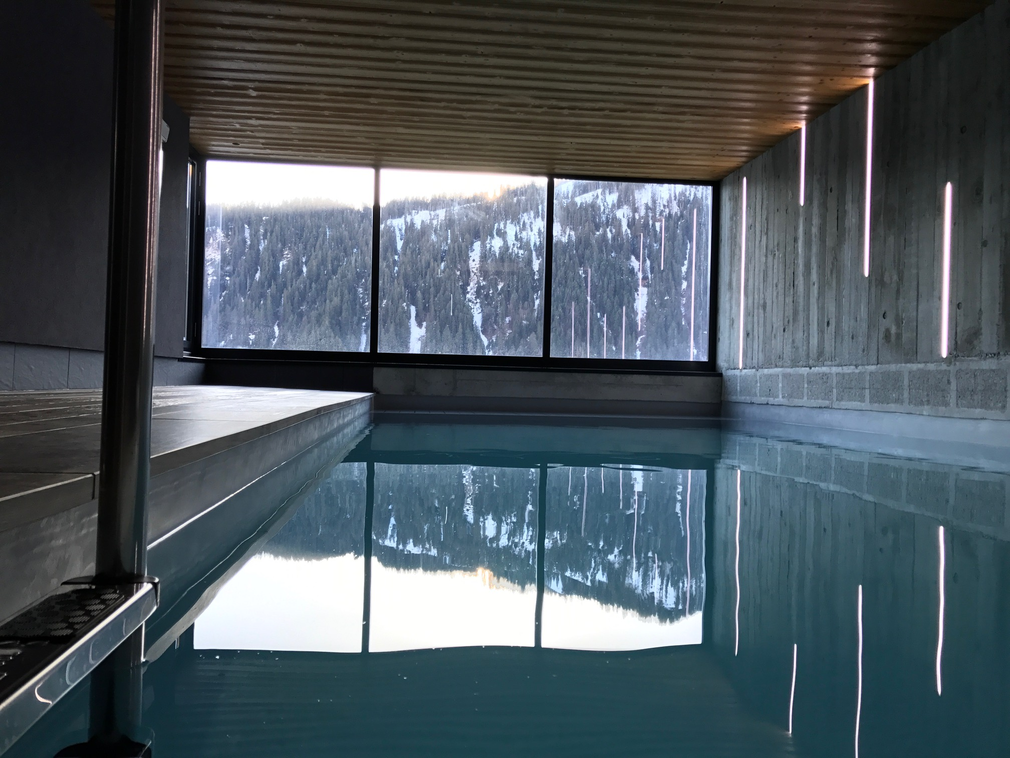Piscine Privative Chalet du Saix