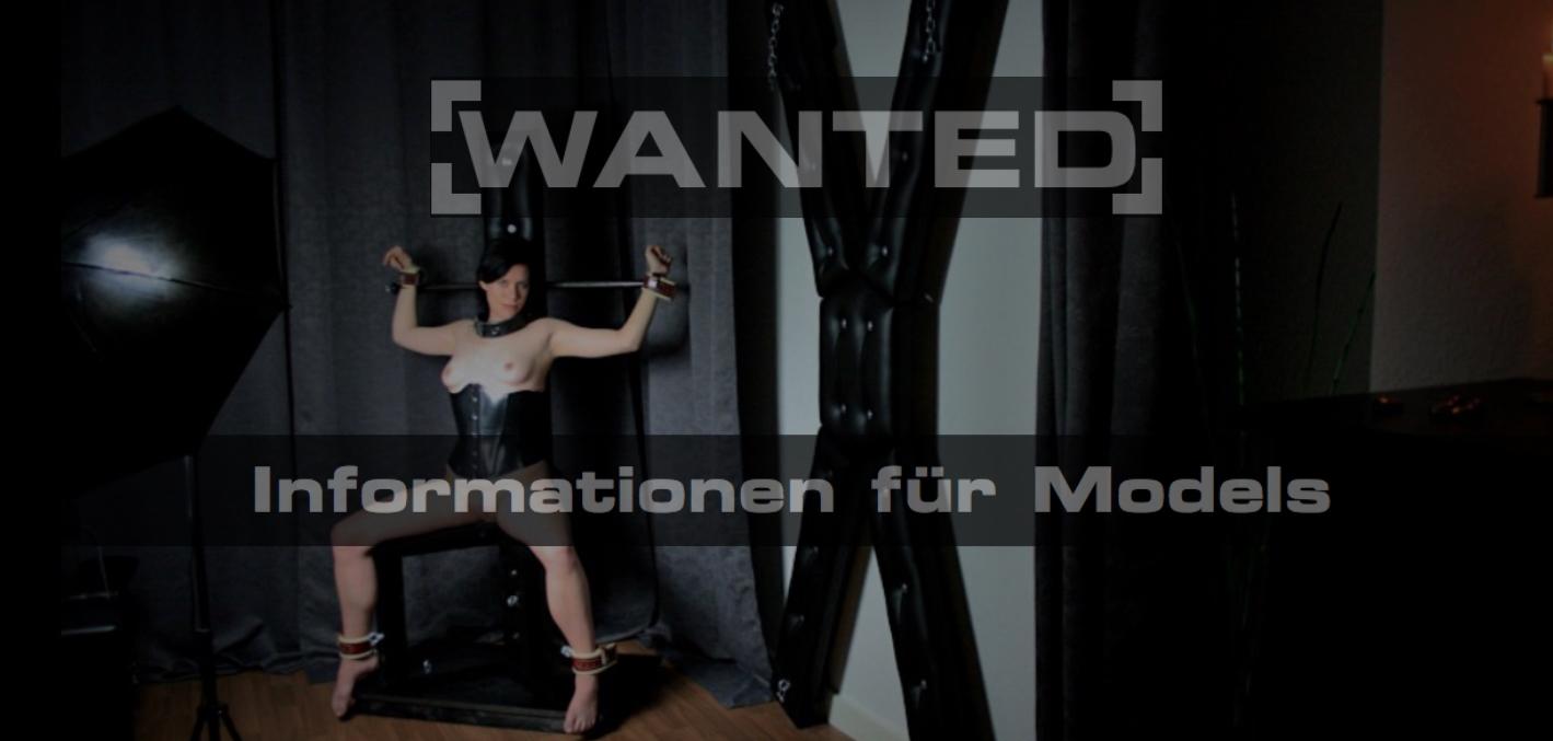 Informationen für Fetisch Foto und Video Models.