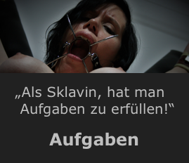 BDSM Aufgaben für Sklavinnen