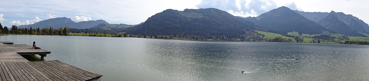 Panorama vom Walchsee