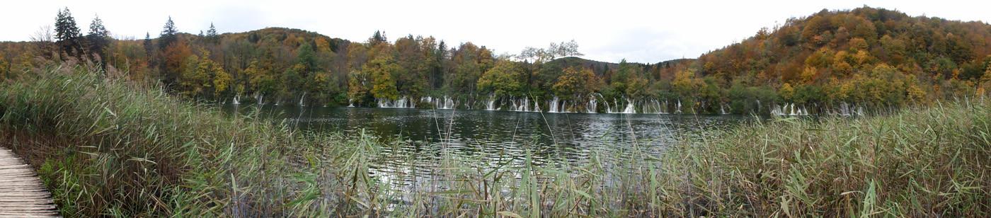 Das bitteschön ist nur ein kleiner Ausschnitt des ganzen Nationalpark Plitvička Jezera