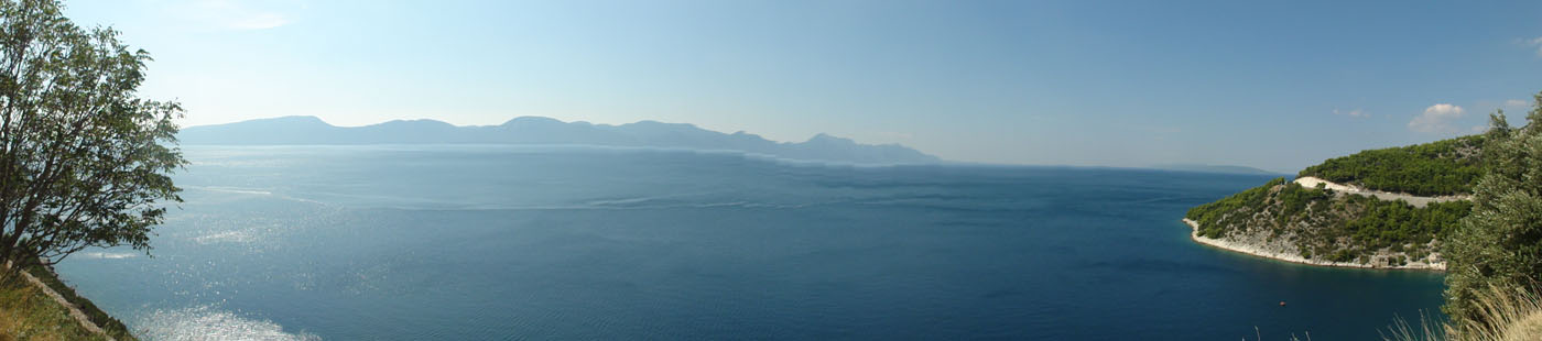 Küstenpanorama