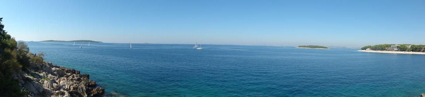 Adria-Panorama bei Primošten