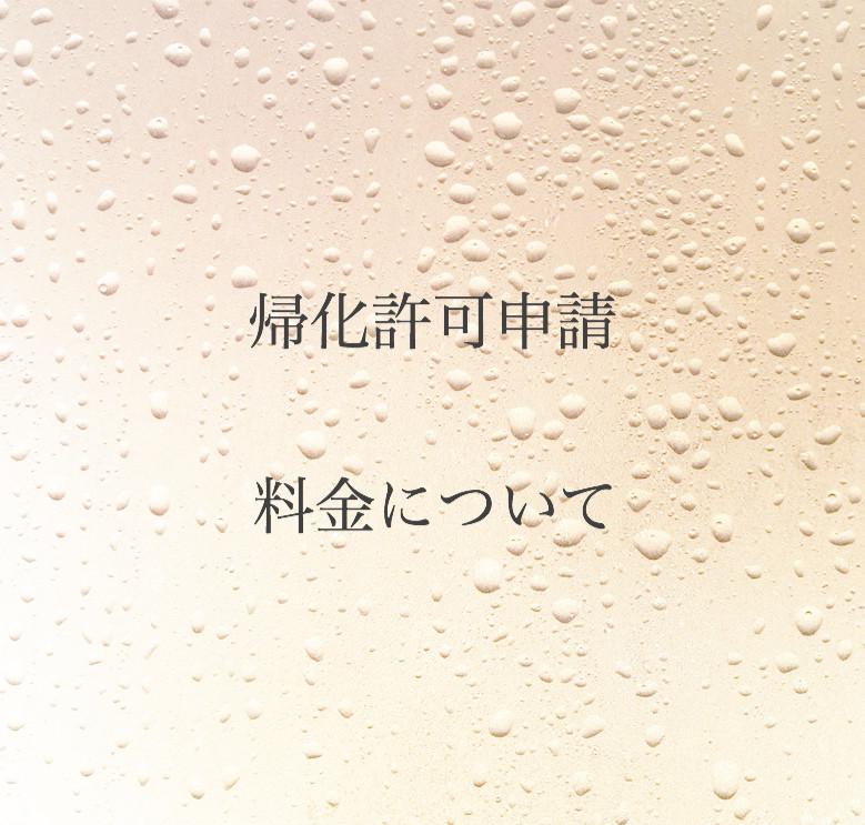 帰化許可申請の料金のご案内「相模原・川崎・横浜・神奈川県全域・東京」