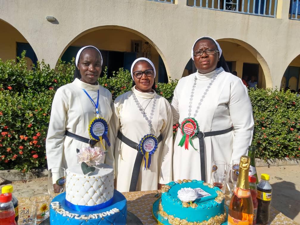 JUBILE ET PROFESSIONS RELIGIEUSES