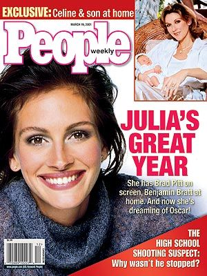 Julia Roberts - People Magazine [USA] (19 Mars 2001)