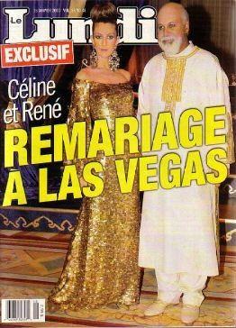 René Angelil, Céline Dion - Couverture Le Lundi Magazine  [Canada] (15 Janvier 2000)