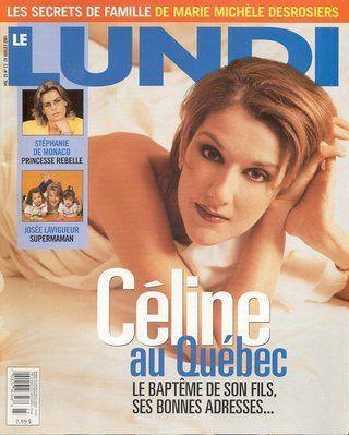 Céline Dion - Couverture Le Lundi Magazine  [Canada] (28 Fevrier 2001)