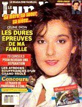 Céline Dion - Couverture Le Lundi Magazine  [Canada] (24 Septembre 1988)