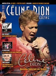 Céline Dion - Couverture Céline Dion Magazine [France] n°17