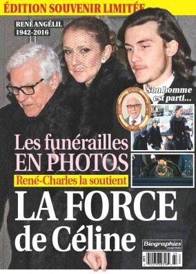 Céline Dion - Couverture Biographies Magazine  [Canada] (Fevrier 2016)