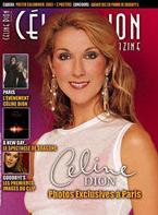 Céline Dion - Couverture Céline Dion Magazine [France] n°15