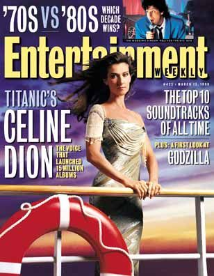 Céline Dion - Entertainment Weekly Magazine [USA] (13 Mars 1998)