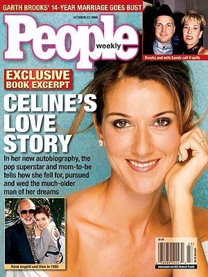 Celine Dion - Couverture People Magazine [USA] (23 Octobre 2000)