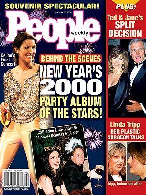 Celine Dion - Couverture People Magazine [USA] (17 Janvier 2000)