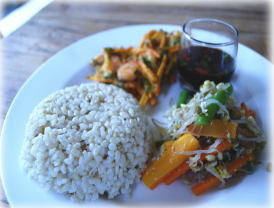 nasi cample style