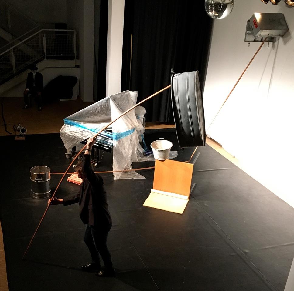 """Performance, """"Von Sinnen"""" - Kulturforum ALTE POST. Neuss 30.04.2016"""
