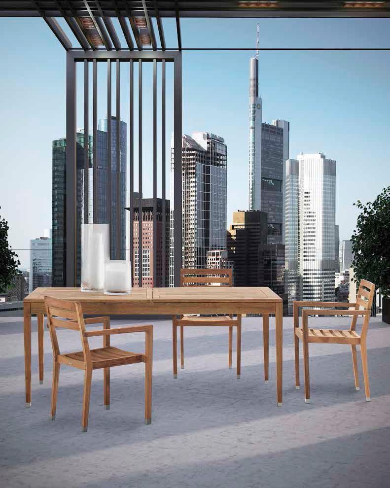 tavoli e sedie in teak per giardino - arredo spluga - Tavolo Da Giardino In Legno Teak