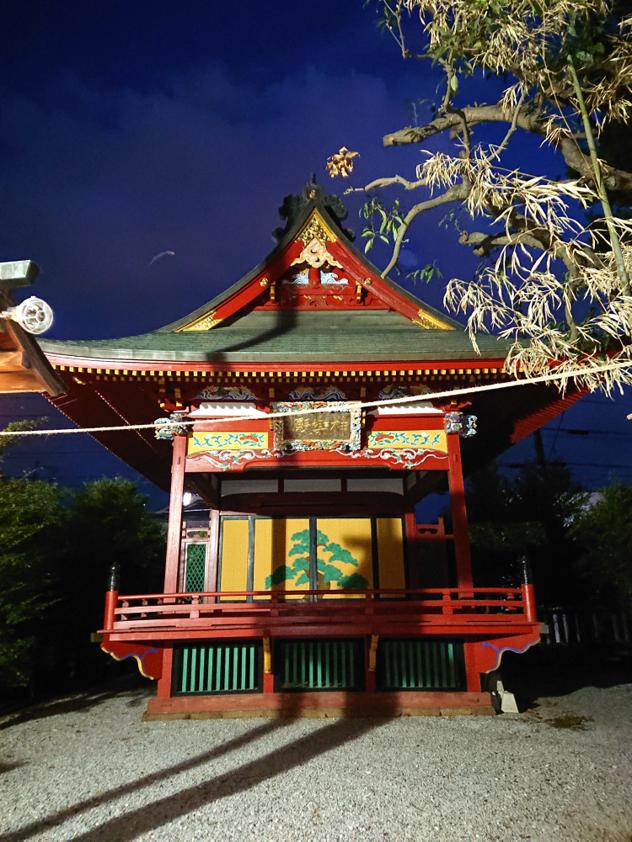 金鑚神社の神楽殿