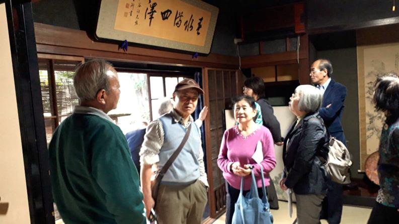 2020年1月30日(木)NPO法人本庄ファンクラブの団体ツアー方々が戸谷八商店に来られました。