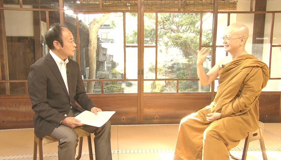 2019年12月8日NHK「こころの時代」にてプラユキ・ナラテボー師がご出演されました。
