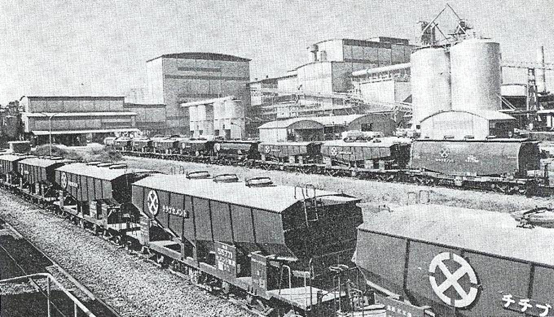 旧秩父セメント 熊谷工場出荷バラ貨車