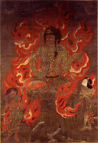 不動明王(国宝・醍醐寺蔵)