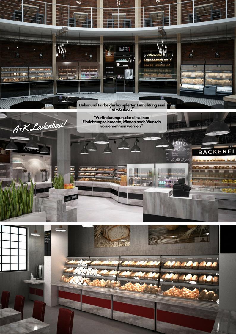 Selbstbedienungsbäckerei A+K Ladenbau