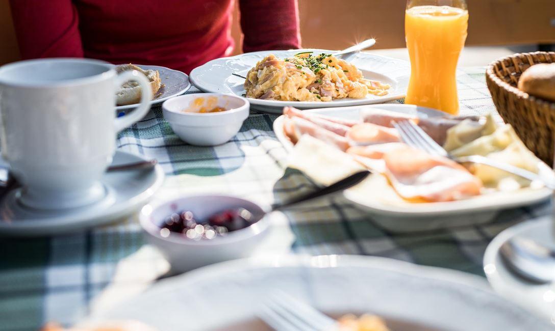 Bergfrühstück für einen guten Start in den Tag