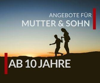 Angebote für Mutter und Sohn Urlaub in den Kitzbühler Alpen für Jungen ab 10 Jahre