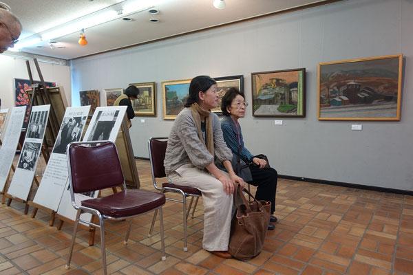 深谷祥子さんと母親