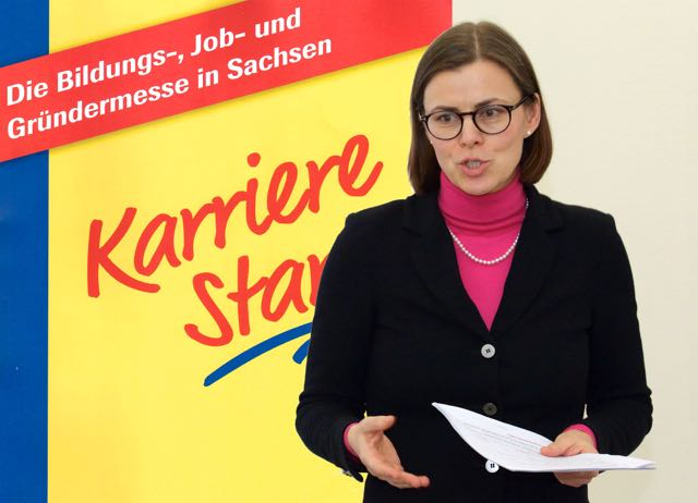 Deike Burkhardt als Vortragsrednerin zum Thema Bewerbungsunterlagen