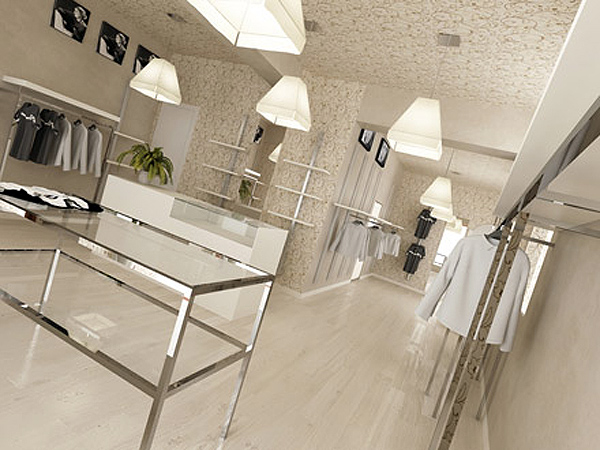 Pulizie negozi show room gps pulizie for Interior design negozi