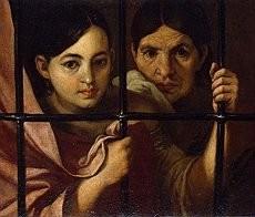 BARTROLOMEO ESTEBAN MURILLO - Donne alla finestra