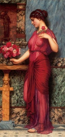 JOHN WILLIAM GODWARD An offering to Venus (1912)