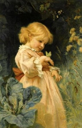 FREDERICK MORGAN -  The butterfly