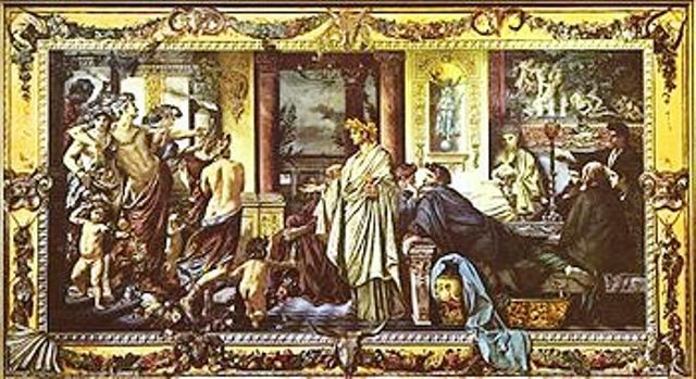 Il Simposio - Anselm Feuerbach