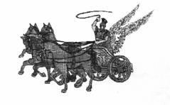 Il mito della biga alata