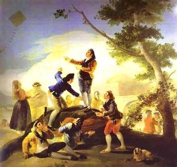 FRANCISCO GOYA - L'aquilone (1778)