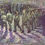 VINCENT VAN GOGH - La ronda dei prigionieri (1890)