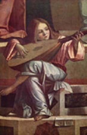 VITTORE CARPACCIO - Angelo musicista