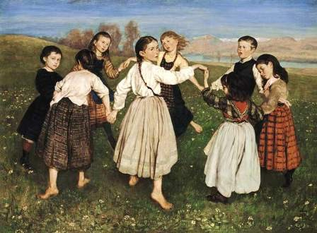 HANS THOMA The child round dance