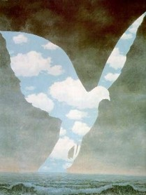 René Magritte - La grande famiglia 1963