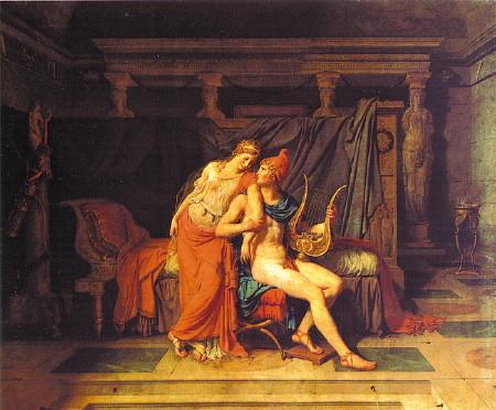 David - Paride ed Elena