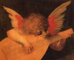 ROSSO FIORENTINO - Angelo musicista (1520)