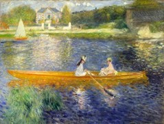 PIERRE AUGUST RENOIR - The skiff